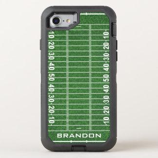 Football Field Design Otter Box OtterBox Defender iPhone 8/7 Case