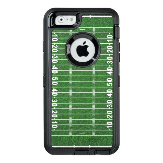 Football Field Design Otter Box OtterBox Defender iPhone Case