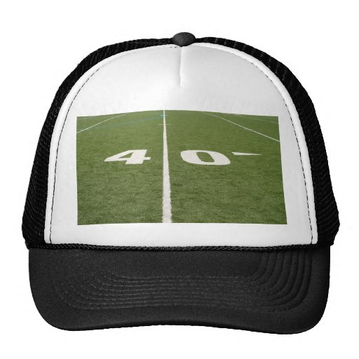Football Field Forty Hats