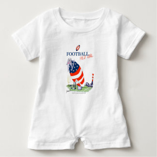 Football field goal, tony fernandes baby romper