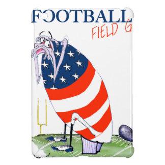 Football field goal, tony fernandes iPad mini cases