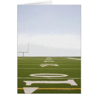 Football Field Greeting Card