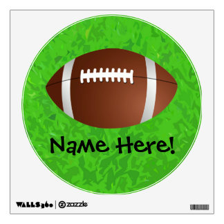 Football Field Junior Varsity Wall Decal