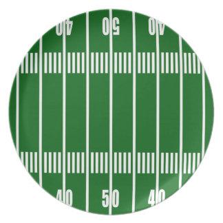 Football Field Plate