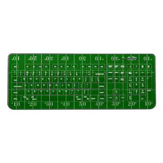 Football Field Wireless Keyboard