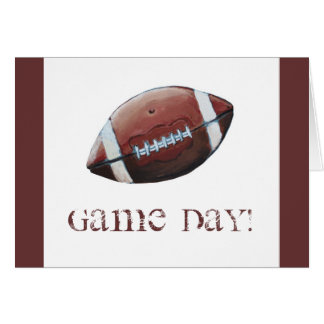 FOOTBALL GAME DAY! CARD