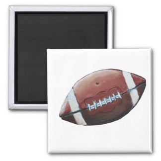 FOOTBALL GAME DAY! SQUARE MAGNET