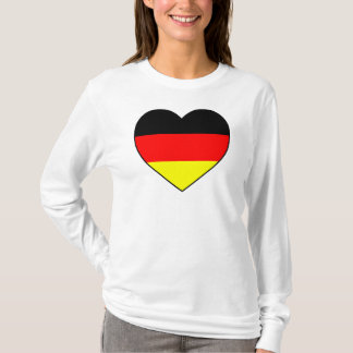 Football Germany sweater heart