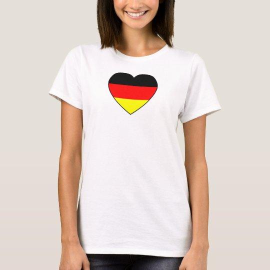 Football Germany Top heart