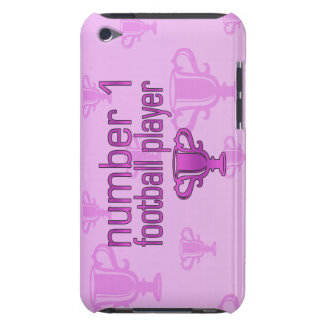 Football Gifts for Her: Number 1 Football Player Barely There iPod Covers