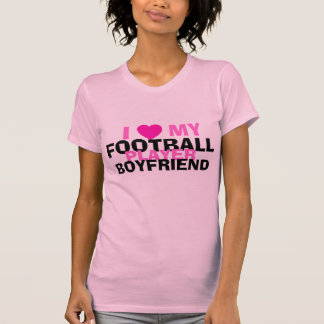Football girlfriend tshirt
