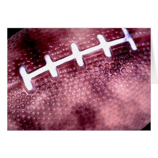 Football Grunge Style Greeting Card