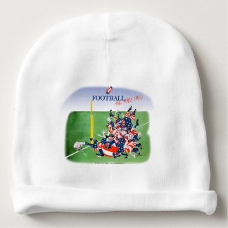 Football hail mary pass, tony fernandes baby beanie