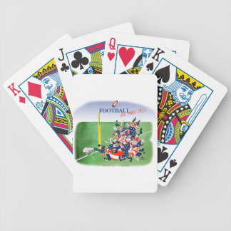 Football 'hail mary pass', tony fernandes bicycle playing cards