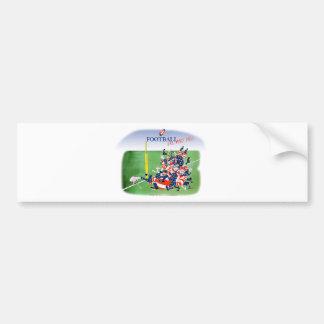 Football hail mary pass, tony fernandes bumper sticker