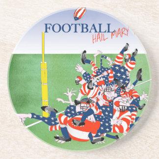 Football 'hail mary pass', tony fernandes coaster