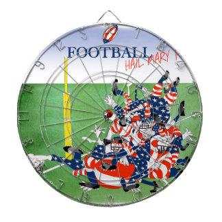 Football hail mary pass, tony fernandes dart board