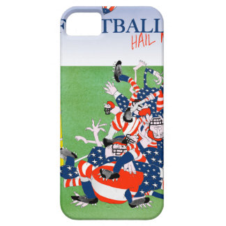 Football hail mary pass, tony fernandes iPhone 5 case