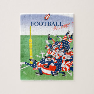 Football 'hail mary pass', tony fernandes jigsaw puzzle