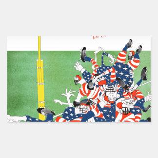 Football hail mary pass, tony fernandes sticker