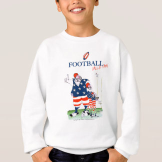 Football hall of fame, tony fernandes sweatshirt