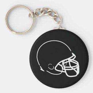 Football Helmet Keychain