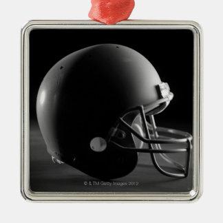 Football helmet metal ornament