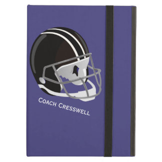 Football Helmet With Personal Text Area iPad Air Case