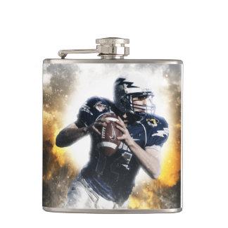 Football Hip Flask