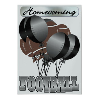 Football Homecoming Party Invitation by SRF