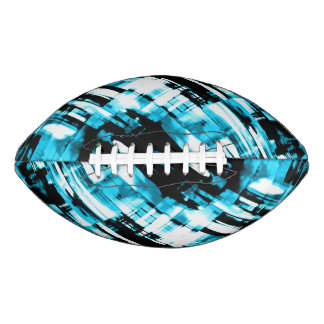 Football Hot Blue Black abstract digitalart G253