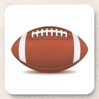FOOTBALL IMAGE ON ITEMS BEVERAGE COASTER