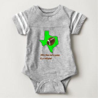 Football in Texas is Religion Baby Bodysuit