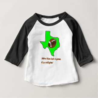 Football in Texas is Religion Baby T-Shirt
