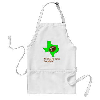 Football in Texas is Religion Standard Apron