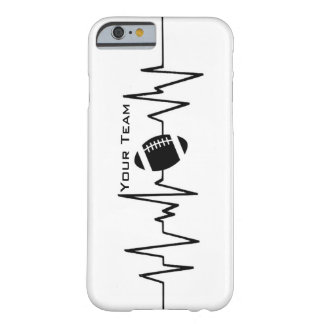 Football is always in the heartbeats barely there iPhone 6 case