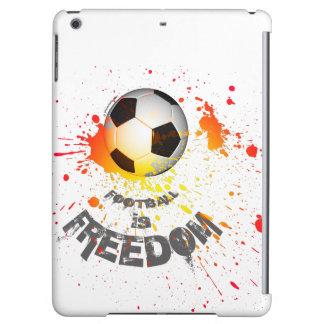 Football is F case iPad Air (ball splash orange) Cover For iPad Air