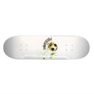 Football is Freedom skateboard (splash ball green) Skateboard Decks
