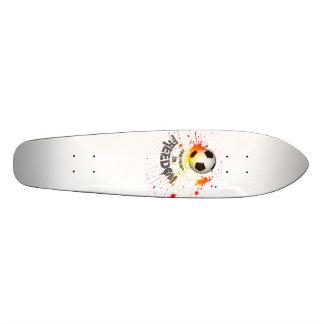 Football is Freedom skateboard (splashball orange)