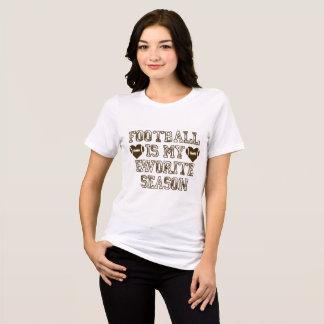 Football Is My Favorite Season Womens Shirt