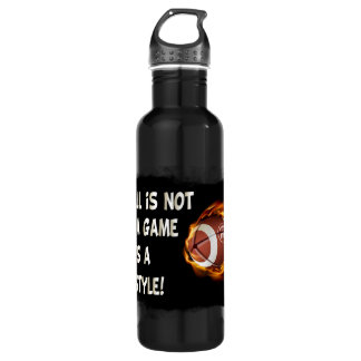Football is not a Game  It's a Lifestyle 710 Ml Water Bottle