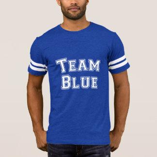 Football Jersey Baby Announcement Team Blue T-Shirt
