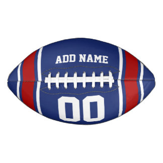 Football Jersey Blue|Red Personalized