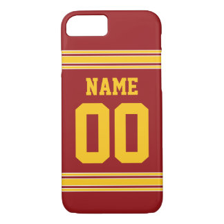 Football Jersey - Customize with Your Info iPhone 7 Case