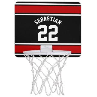 Football Jersey Novelty Personalized Name Mini Basketball Hoop