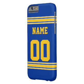 Football Jersey with Area To Customize Barely There iPhone 6 Case