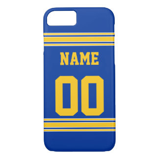 Football Jersey with Area To Customize iPhone 7 Case