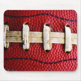 Football laces mousepad