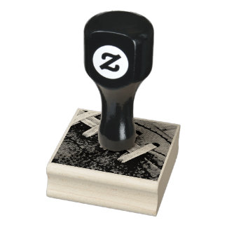 Football Laces Rubber Stamp