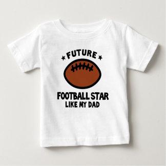 Football Like Dad Baby T-Shirt